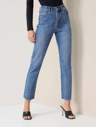 Ever New Isabel Mid-Rise Straight Jeans