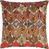 "Pine Cone Hill Anatolia Embroidered Kenya Pillow, 20""Sq."