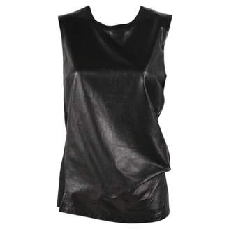 Reed Krakoff Black Leather Top for Women