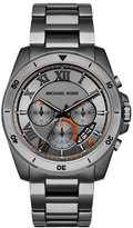 MICHAEL Michael Kors Brecken 44mm Chronograph Watch, Gunmetal