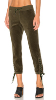 Pam & Gela Lace Up Sweatpant