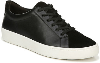 Vince Janna Suede & Leather Low-Top Sneakers