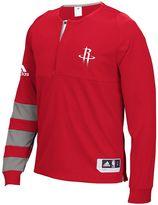 adidas Men's Houston Rockets On-Court Shooting Shirt