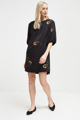 French Connection Mahi Crepe Tunic Dress