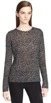 Proenza Schouler Women's Print Tissue Jersey Long Sleeve Top