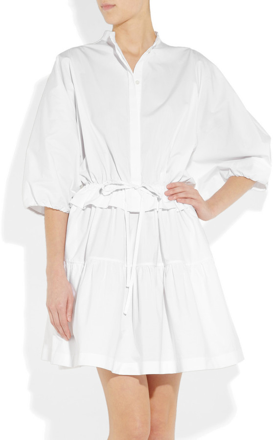 Chloé Cotton-poplin dress