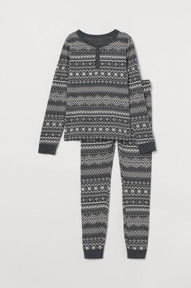 H&M Patterned jersey pyjamas