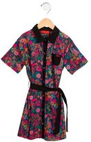 Sonia Rykiel Girls' Floral Print Belted Dress w/ Tags