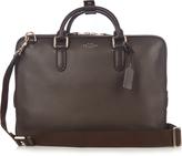 Smythson Burlington leather briefcase bag