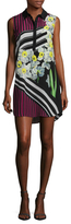 Mary Katrantzou Longi Silk Print Blouse Dress