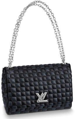 Louis Vuitton Twist Damier Quilted MM Black/Anthracite