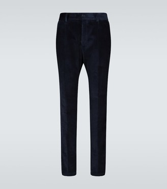 Dolce & Gabbana Straight-fit corduroy pants