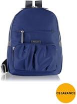 Radley Primrose Street Large Ziptop Backpack - Navy