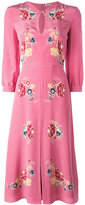 Vilshenko Holly Rose dress - women - Silk - 10