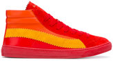 Paul Smith panel sneakers - men - Leather/Suede/rubber - 6