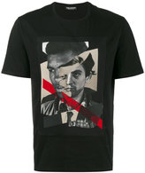 Neil Barrett Freedom Fighter Printed T-Shirt