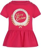 Juicy Couture Fuchsia Collegiate Laurel Peplum Baby Top