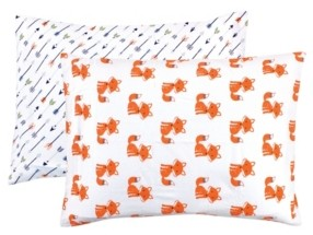 Hudson Baby Baby Girls and Boys Foxes Cotton Toddler Pillow Case