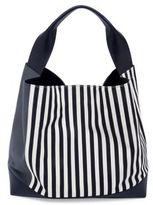 Marni Striped Canvas Shoulder Bag