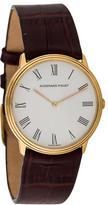 Audemars Piguet 18K Leather Strap Watch