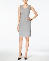 Kasper V-Neck Sheath Dress