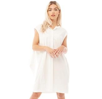Y-3 Womens Wrap Dress Core White