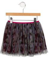 Paul Smith Girls' Tulle Printed Skirt