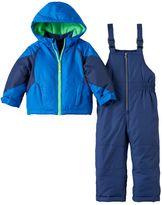 Carter's Boys 4-7 Colorblock Jacket & Bib Snow Pants Set