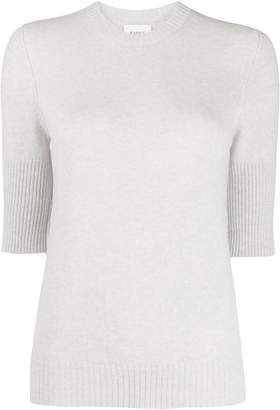Barrie knit half sleeve sweater