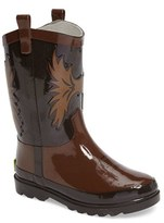 Western Chief Toddler Boy's Cowboy Waterproof Rain Boot