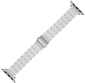 Kate Spade Ceramic Bracelet Band for 38/40 mm Apple Watch(r) (White) Watches