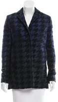 Ports 1961 Ombré Houndstooth Patterned Coat w/ Tags