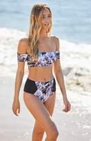 Reef Off-The-Shoulder Cropped Bikini Top