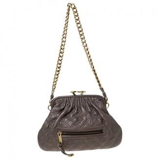 Marc Jacobs Stam Grey Leather Handbags