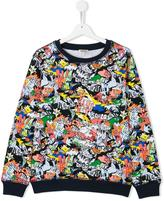 Kenzo Dancing Cactus sweatshirt - kids - Cotton - 16 yrs