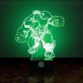 Abysse Corp Officially Licensed Marvel Avengers Hulk Character Light