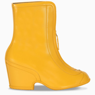 Gucci Yellow water resistant ankle boots