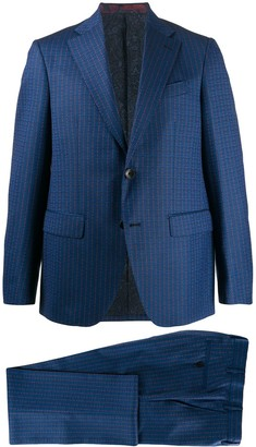 Etro Straight Fit Two-Piece Suit