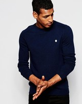 Antony Morato Wool & Cashmere Mix Knitted Jumper - Blue