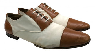 Gucci Brown Leather Lace ups