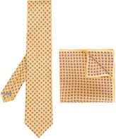 Canali printed tie set