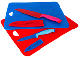Cutting Board and Knife Set (6 PC)