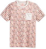 American Rag Men's Digi Stripe Pocket T-Shirt, Only at Macy's