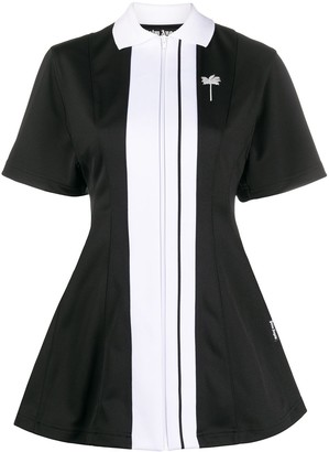 Palm Angels Tennis Track shirt dress