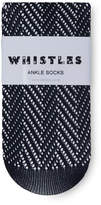Whistles Crochet Ankle Socks