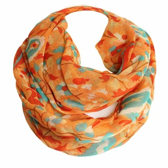 Glamexx24 Ladies scarf with pattern mix in flower design Ethno pattern Long scarf Loop tube scarf cloth