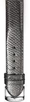 Philip Stein Teslar Gunmetal Karung Strap, 20mm