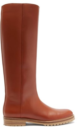 Gabriela Hearst Howard Knee-high Leather Boots - Tan