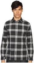 Vince Cotton-Linen Square Hem Long Sleeve Melrose Shirt Men's Clothing
