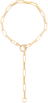 joolz by Martha Calvo Rectangle Link Chain Necklace